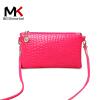 莫尔克(MERKEL)新款女包迷你手机包单肩鳄鱼纹零钱包斜跨小包包韩版时尚手拿包