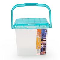 [当当自营]Citylong禧天龙 18L 带盖车载收纳箱塑料工具箱钓鱼桶凳渔具鱼桶装活鱼水桶 T3026收纳盒整理箱