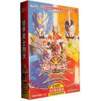 刑天铠甲勇士60集 儿童科幻卡通片4碟  dvd光盘赠益智动画6碟