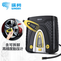 WINDEK瑞柯车载充气泵便携式点烟器式充气泵汽车 小轿车 12v轮胎打气泵RCP-C70T