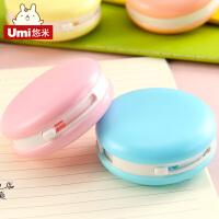 UMI创意日韩文具 糖果色清新马卡龙造型修正带改正带 学生涂改