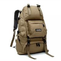 芭特莉【支持礼品卡支付】户外旅行登山包帆布双肩书包帆布包大包包时尚潮流女士背包L065#
