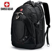 SWISSGEAR瑞士军刀小学中学生书包双肩包 男士15.6寸商务电脑包 瑞士联想惠普笔记本休闲背包
