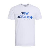 New Balance/NB 男子运动休闲针织透气短袖T恤AMT71611WT 现