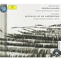 进口CD:《俄罗斯音乐选集》:里姆斯基・科萨克夫《天方夜潭》,穆索尔斯基《图画展览会》/474 564-2
