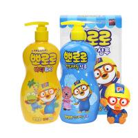 韩国正品韩国Pororo宝露露卡通儿童软毛牙膏牙刷护齿防蛀牙3岁以上 1支