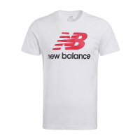 New Balance/NB  男子运动休闲短袖针织T恤 AMT63554WT 现