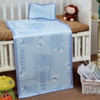 婴儿凉席 新生儿冰丝儿童夏季幼儿园席子宝宝透气 婴儿床凉席