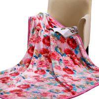 [当当自营]富安娜家纺双层法兰绒毯保暖毛毯毯子午休毯盖毯仙境物语