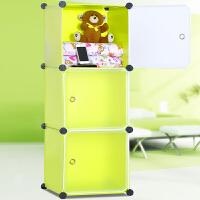 亚思特简易收纳柜 柜子 自由组合储物柜 床头柜M3503