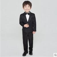韩版修身中大童小西服马甲套装儿童礼服主持人演出服男童花童