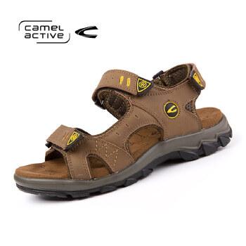 骆驼动感(camel active)2016年男士时尚凉鞋休闲沙滩鞋