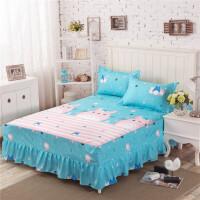 床裙床笠床罩床套防滑床单 席梦思保护套1.2 1.5 1.8床