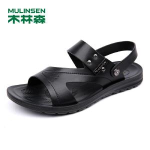 木林森 男凉鞋春夏季男士沙滩鞋舒适透气男休闲凉鞋05277703