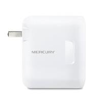 水星 MW156RM 150M迷你型无线路由器 wifi穿墙家用ap 便携式智能无线信号放大器 USB充电器双LAN口