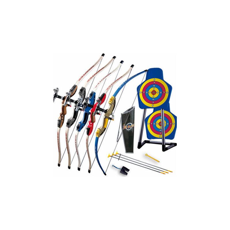 男孩弓箭玩具 儿童亲子射击玩具 户外运动健身器材 射箭绿箭侠_配置二