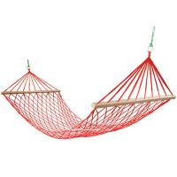 尼龙绳吊床户外网状吊床网兜木棍秋千室内便携式吊床
