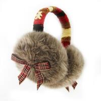 冬季女冬天可爱耳套耳罩毛绒护耳保暖耳暖大蝴蝶结耳包