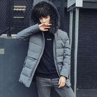 2015新款冬装立领羽绒服新款男男款羽绒服长袖休闲保暖外套