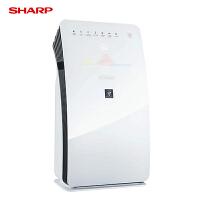 【当当自营】夏普/SHARP空气净化器家用KC-CE50-W除菌甲醛PM2.5去除过敏源尘螨