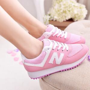 新百伦阿迪  春夏新款运动鞋女N字鞋情侣透气跑步鞋韩版女鞋单鞋一件代发