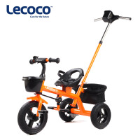Lecoco乐卡2-3-5岁儿童三轮车脚踏车宝宝手推小孩童车