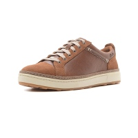 Clarks/其乐 圆头系带皮质舒适板鞋商务休闲男鞋CLA-26117756