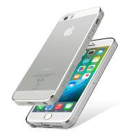 倍思 iphone5s手机壳苹果5硅胶超薄透明男ipone套s防摔简约软壳se