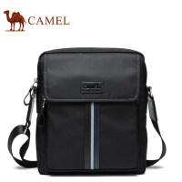 Camel骆驼男包男士单肩包休闲青年斜挎包男竖款韩版小包男版背包