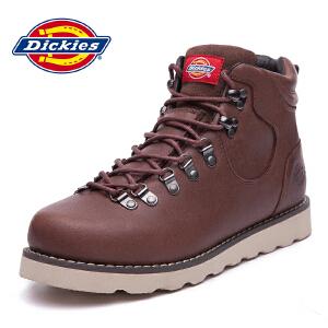Dickies男鞋工装鞋休闲时尚英伦户外保暖高帮橡胶底冬季164M50LXS46