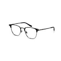 陌森光学眼镜架男款商务近视眼镜可配度数半框方形眼镜框MJ7001