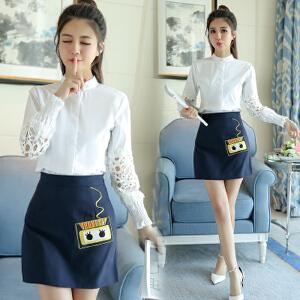 女装套装时尚甜美春装两件套裙装韩版时髦百搭