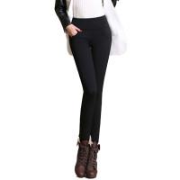 打底裤保暖 加绒裤女冬裤大码胖mm带绒外穿 冬天女裤子铅笔裤