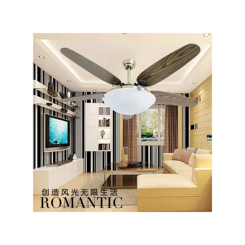 名家汇吊扇灯 欧式 时尚 豪华吊扇灯56寸fz1405d 环形大灯扇 餐厅灯