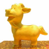 绒沙金十二生肖(卡通版) 工艺品摆件生日礼物送男士女生爸爸妈妈女友礼品 羊