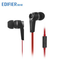 Edifier/漫步者 H275P入耳塞MP3耳机立体声音乐耳机手机线控耳麦 高清通话 子弹造型 质感高档 低频震撼