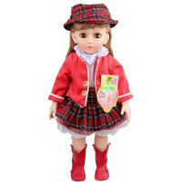 安娜公主 会说话会唱歌的智能对话洋娃娃 早教故事机 关节可以活动带遥控器