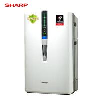 【当当自营】夏普/SHARP空气净化器家用氧吧加湿除甲醛PM2.5净烟除尘雾霾KC-W380SW-W