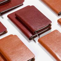 卡杰活页本拉链笔记本子记事本商务手包式办公文具皮料日记本定制
