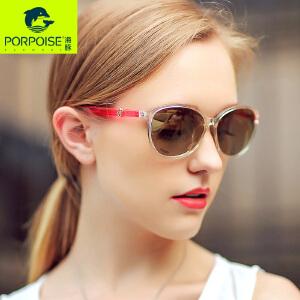 海豚太阳镜 新款女士优雅偏光太阳眼镜 时尚开车驾驶墨镜PP-5118