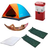 户外便携四季 遮阳篷帐篷户外3-4人套装装备