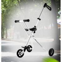 简约时尚轻便三轮车婴儿宝宝三轮车折叠车滑行车推车儿童手推车