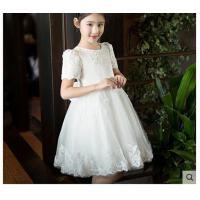 儿童礼服蓬蓬裙童装公主裙女童礼服钢琴演出服花童婚纱礼服连衣裙