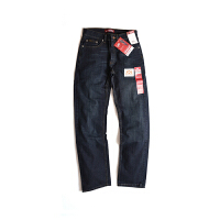 LEE/李 男式直筒牛仔裤青年男士水洗牛仔裤大码拉链休闲长裤2001926