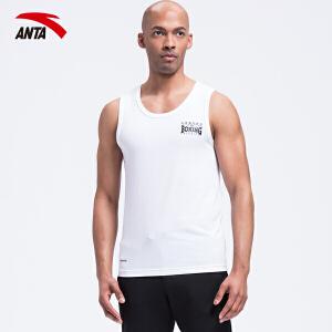 安踏T恤背心男装夏季透气短袖跑步篮球服运动服背心15627103