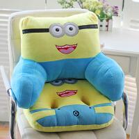 卡通可爱办公室靠垫汽车沙发腰枕大号椅子护腰靠枕靠背垫床头抱枕