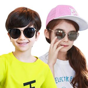 KK树2017年新款儿童太阳镜宝宝眼镜可爱女童墨镜男童遮阳镜潮