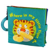 LALABABY拉拉布书立体书Where is my little tiger我的小老虎在哪