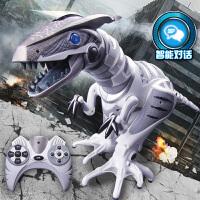 佳奇智能遥控恐龙语音对话跳舞充电遥控机器人霸王龙模型儿童玩具