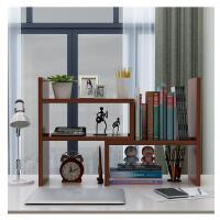 伸缩书架置物架桌面书柜儿童简易桌上收纳架小书架办公组合架